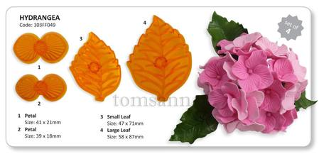 Hydrangea Cutter set of 4