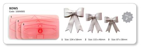 Large Bow Cutter set of 3