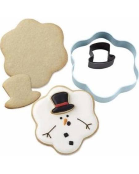 Cookie Cutter - Melting Snowman with hat