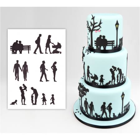 FAMILY SILHOUETTE SET