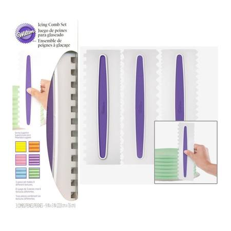 Icing Comb Set 3 pc
