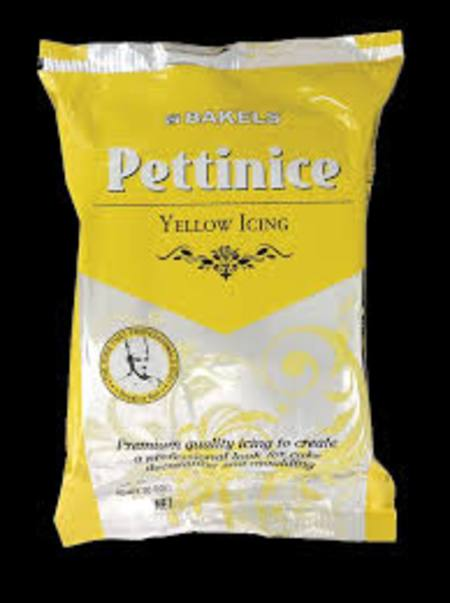 Pettinice, Yellow 750gm - Fondant, BBF  1/05/20