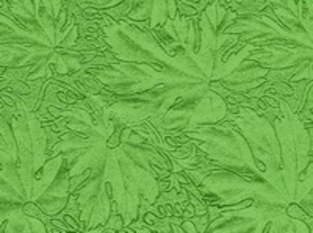 Cake Board paper, Green Maple Leaf - Sold per meter