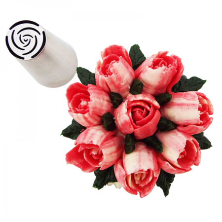 Russian Specialty Icing Tip - 10 Petal Rose