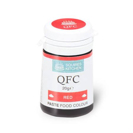 SK QFC Quality Food Colour Paste Red 20g
