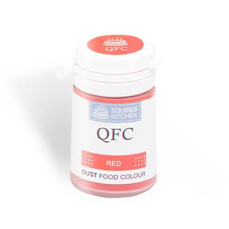 SK QFC Quality Food Colour Dust Red 4g