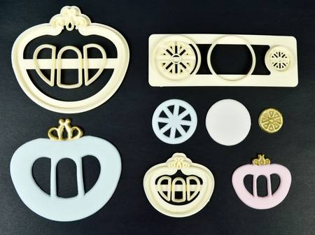 Princess Carriage - Set of 2