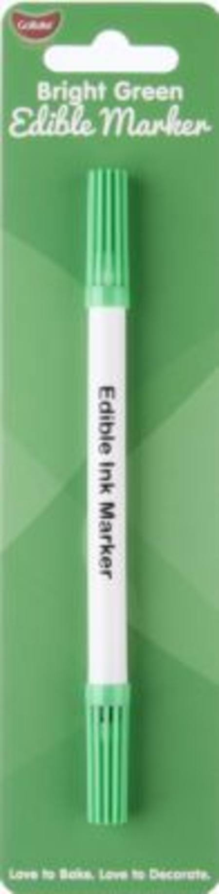 Buy Edible Marker Pen Bright Green in NZ.