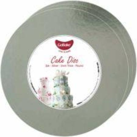 "8"" Round, Cake Disc - 2 mm - 3 Pack"