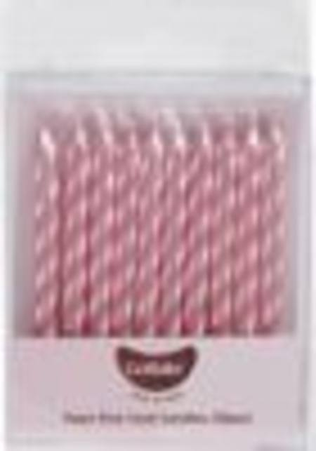 Pearl Pink Twist Candles