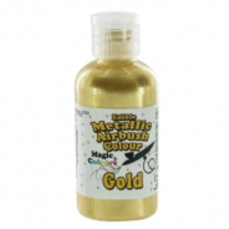 Edible Metallic Airbrush Colour Gold, 55ml