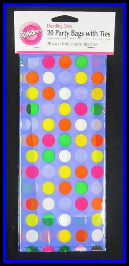 Pary Bag Dazzling Dots Party Bags x20
