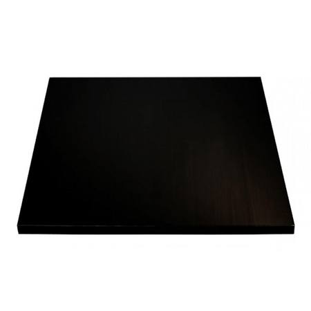 Oblong Masonite 9mm , Black 350x425mm
