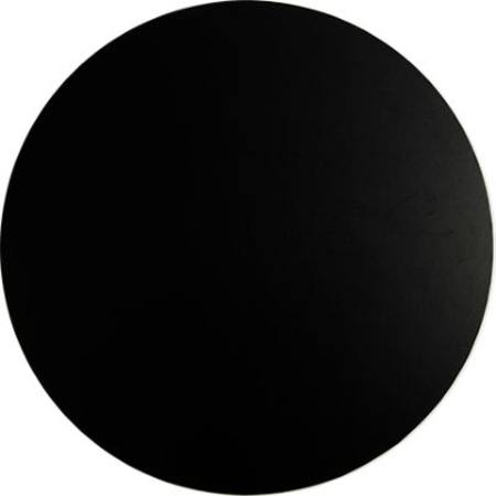 "18 "" Round, Black Masonite, Cake Board 9mm"