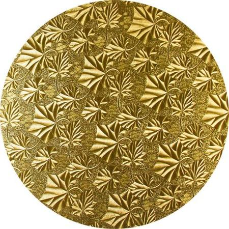 "10"" Round Masonite - Gold 4mm"