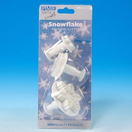 Buy Snowflake Plunger cutter, set of 3 in NZ.