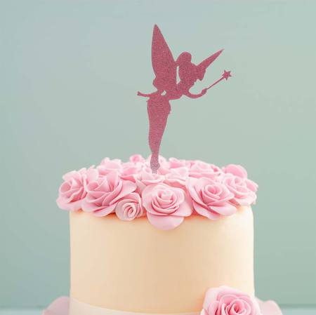 FAIRY CAKE TOPPER (PINK)
