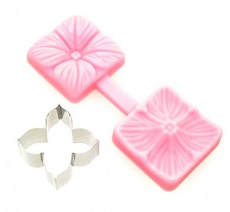 Hydrangea Cutter & Mould Set, with plastic cutter