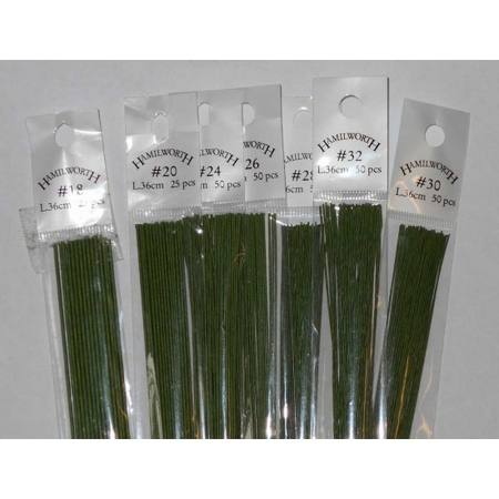 26 gauge wire , GREEN 50 qty