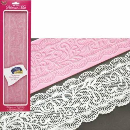 Beatrice Wet Lace Silicone Mat 400x100mm