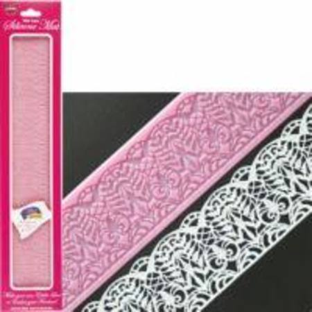 Isabella Wet Lace Silicone Mat 390x70mm